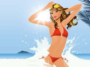 red-bikini-cartoon-woman-manga-manhwa-eba78ced9994-breasts-eab080ec8ab4-korean-cartoon-beach