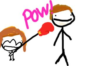 me punching adam